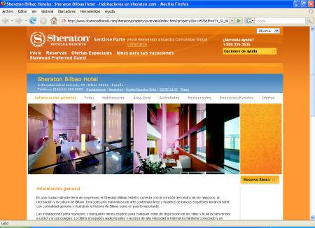 Hotel Sheraton en Bilbao